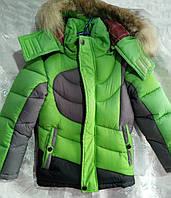 Куртка зимняя спорт на мальчика р.26-34 (110-134)