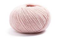 Пряжа для вязания крючком и спицами Lamana-Milano_40_Altrosa_Antique-Pink, светло-розовый, бледно-розовый