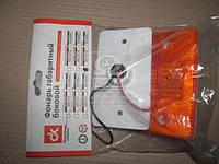 Фонарь габаритный бок. груз. авто, автобусы, прицепы 24В (оранжевый) (светодиод) 4462.3731-02
