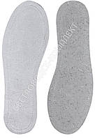 Стельки KROK, кожа на кожкартоне, белая, р.40, фото 1