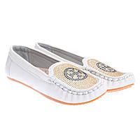 Туфли детские белые Китай С-9127-7