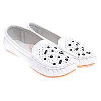 Туфли детские белые Китай С-9128-7