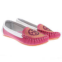 Туфли детские розовые С-9127-9