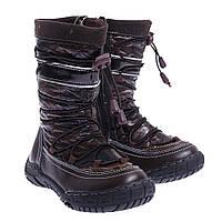 Сапоги детские Toli F 1121 коричневые