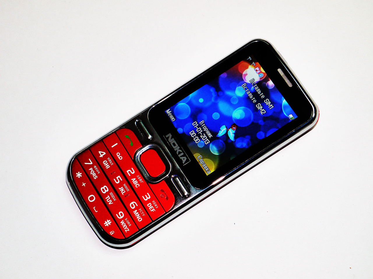 """Телефон Nokia C01 - 2Sim + 2"""" + Camera + BT + FM"""