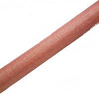 Синамей Розовый персик сетка для шляп, цветов, декора, поделок 9 м