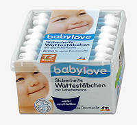 Babylove Детские Ватные палочки 72 шт.