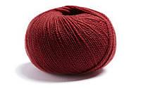 Натуральная  пряжа для вязания Lamana-Milano_56_Burgund_Burgundy, бордо, бордовый, винный