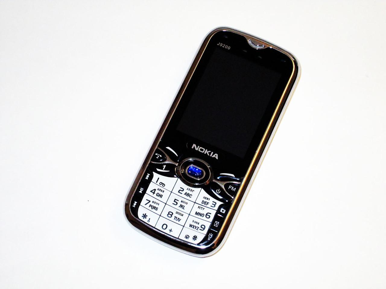 Телефон Nokia J9200 2Sim+Мощная батарея