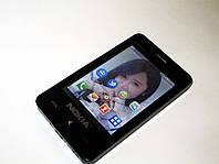 "Телефон Nokia Asha 501 - 2Sim + 3"" TFT + BT + Camera + FM, фото 1"