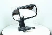 Зеркало боковое ГАЗ 3302 новый образца с поворотного левая черное, матовое  46.8201021-40