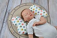 Детская подушка для сладких снов на прогулке butterfly MagBaby