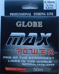 Леска Globe Max power 0.12 мм 30 м
