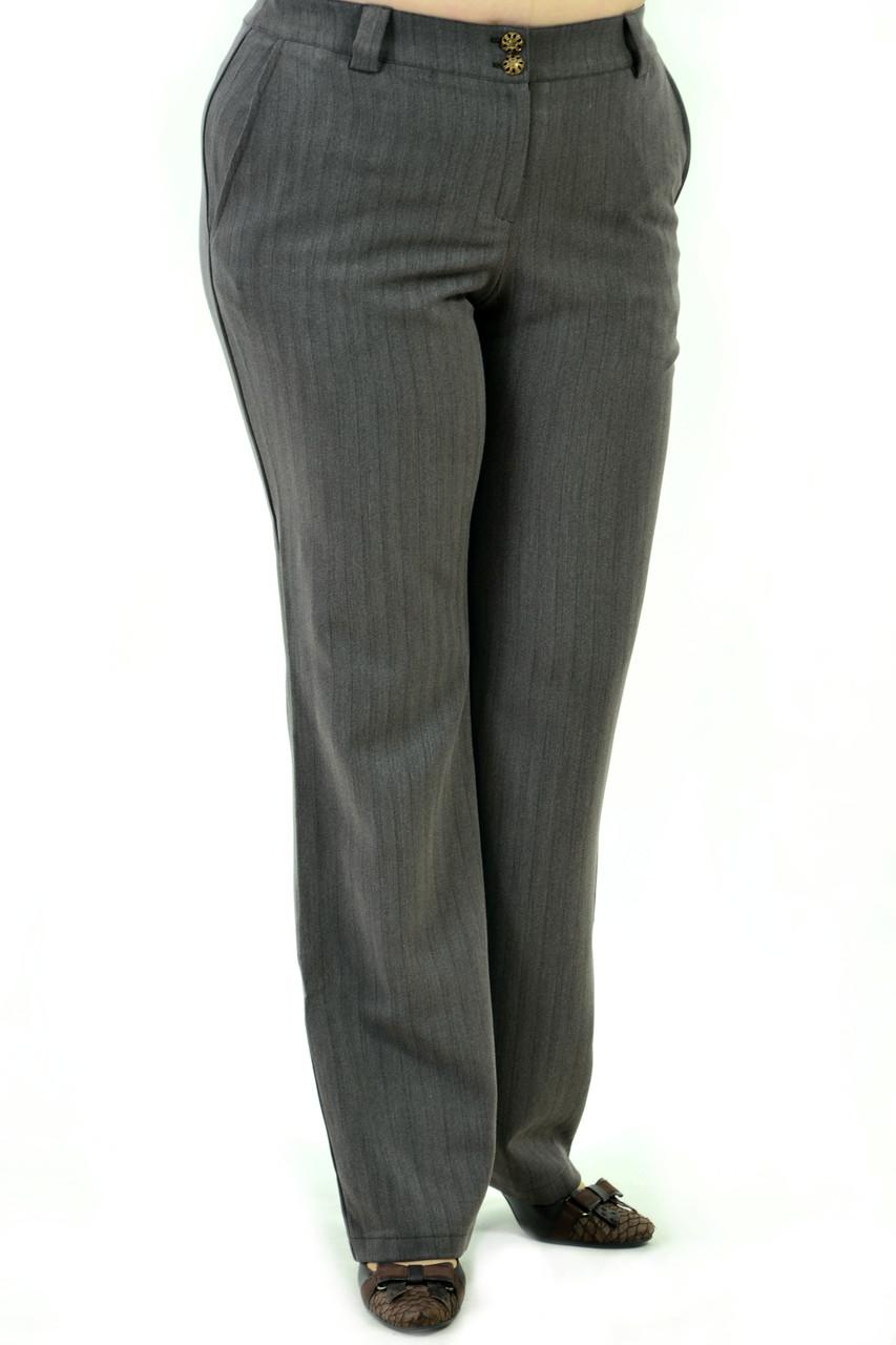Брюки женские, теплые на полную фигуру (БР 744-1), интернет магазин женской одежды, 48,50,52,54,56.