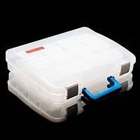 BratFishing Ящик-портфель двухсторонний Bratfishing, белый (280?220?60мм х2)