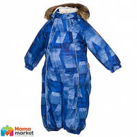 Kомбинезон зимний для мальчика HUPPA REGGIE 1 36020130, цвет pink pattern 72435