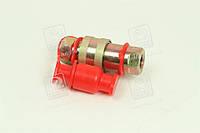Головка соединительная Евро М16х1,5 красная MB, MAN  БРС-63
