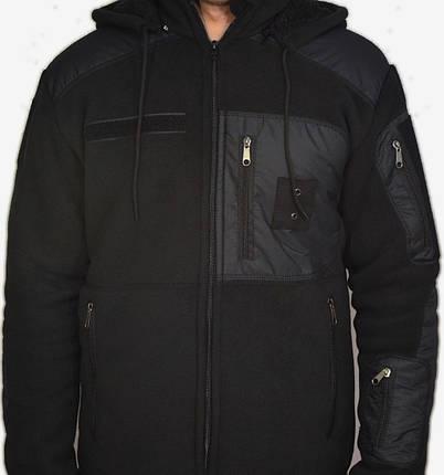 """Куртка флисовая """"Mammut Police"""" (плотность 450 гр/м2), фото 2"""