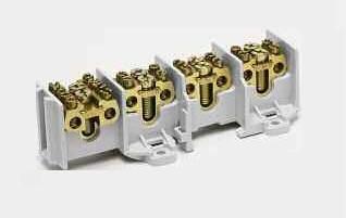 Вводно/распределительный клемник 4-полюса,100А на полюс, 35 мм2, hager, фото 2