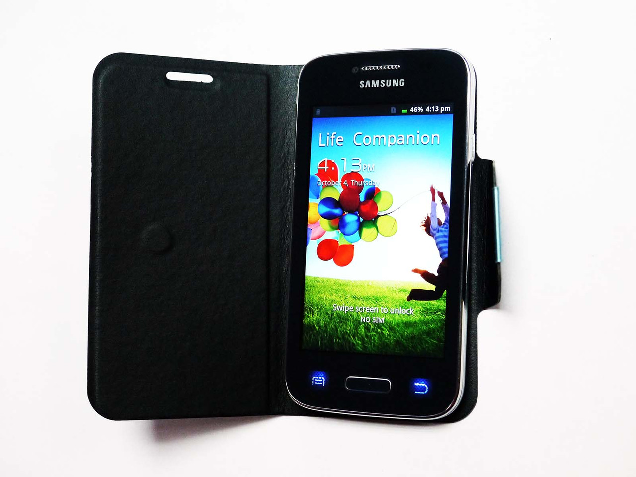 Телефон Samsung Galaxy S4 9500 - 3.5'+2Sim+WiFi+Android4.1