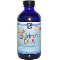 Рыбий жир для детей с клубничным вкусом жидкий  Nordic Naturals  237 мл