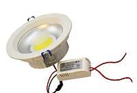 Светодиодный светильник downlight cob 8w