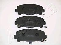 Колодка тормозная дисковый тормоз (производитель ASHIKA) 50-04-409