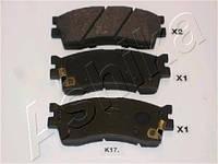 Колодка тормозная KIA CLARUS (производитель ASHIKA) 50-K0-017