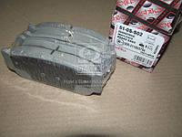 Комплект тормозных колодок, дисковый тормоз (Производство ASHIKA) 51-0S-S02