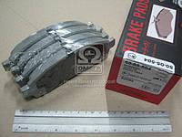 Колодка тормозная MITSUBISHI L200 (производитель ASHIKA) 50-05-504