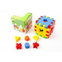 """WADER  Куб - пазл """"Чарiвний куб""""  в коробке"""