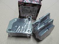 Комплект тормозных колодок, дисковый тормоз (производитель ASHIKA) 51-01-129