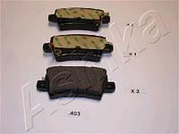 Колодка тормозная HONDA CIVIC (производитель ASHIKA) 51-04-403