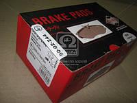 Колодка тормозная дисковый тормоз (производитель ASHIKA) 50-02-244