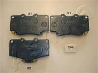 Колодка тормозная TOYOTA LAND CRUISER (производитель ASHIKA) 50-02-254