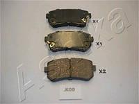 Колодка тормозная HYUNDAI ACCENT (производитель ASHIKA) 51-0K-K09