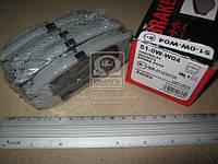 Колодка тормозная CHEVROLET CAPTIVA (производитель ASHIKA) 51-0W-W04