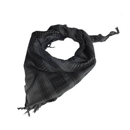 Шарф шемаг  серый/чёрный (M-Tac), фото 2