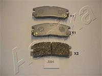 Колодка тормозная MITSUBISHI PAJERO (производитель ASHIKA) 51-05-594