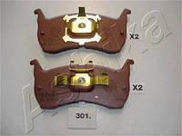 Колодка тормозная дисковый тормоз (производитель ASHIKA) 50-03-301