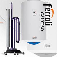 Бойлер (водонагреватель электрический накопительный) Ferroli Calypso 50V вертикальный