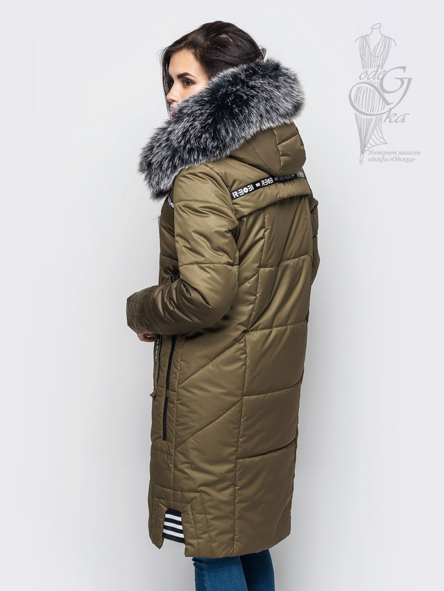 Фото-1 Женского зимнего пуховика Бэнд