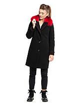 Пальто зимнее с контрастным мехом, 42-50р   , фото 3