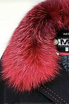 Пальто зимнее с контрастным мехом, 42-50р   , фото 2