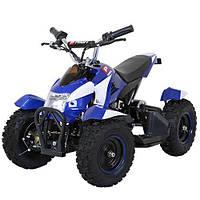 Квадроцикл для детей и подростков HB-6 EATV800-4-1, белый с синим