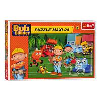Пазлы 24 макси Trefl Боб строитель - На строительстве (14156) 24 детали