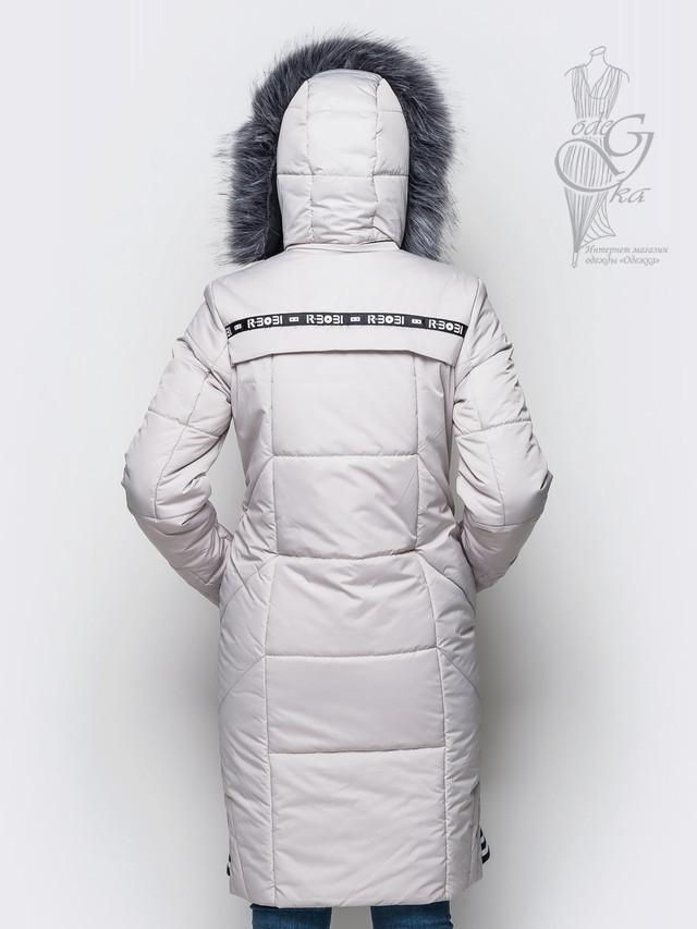 Фото-1 Женского зимнего пуховика Бэнд-3
