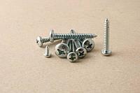 Саморез 2,9*19 DIN 7981 по металлу с закругленной цилиндрической головкой ЦБ, пкр/гл РН