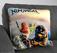 """Детская декоративная подушка """"Ninjago"""""""