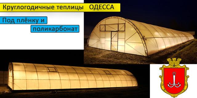 Теплицы под сотовый поликарбонат Одесса
